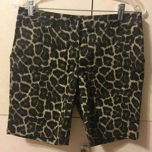 MICHAEL KORS Leopard Walking/Bermuda Shorts 4